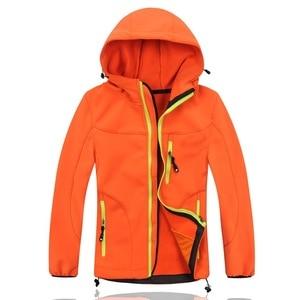 Image 4 - מדד עמיד למים 10000mm Windproof ילד מעיל ספורטיבי תינוק בני בנות מעילי ילדים חמים הלבשה עליונה בגדי עבור 3 12 שנים