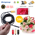 Endoscope 8MM 2IN1 USB Android Camera Endoscopio HD Phone Camera 720P Endoscope 5M USB Endoskop Inspection Borescope Camera