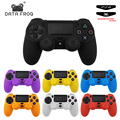 Data Frog Soft Silicone Gel Rubber Skin Cover For SONY Playstation 4 PS4 Controller Protection Case For PS4 Pro Slim Gamepad