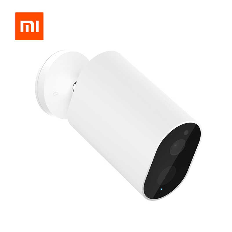Original Xiaomi Mijia Smart Camera Battery Gateway CMSXJ11A 1080P 120 Degree F2.6 AI Humanoid Detection IP Wireless Cameras Cam