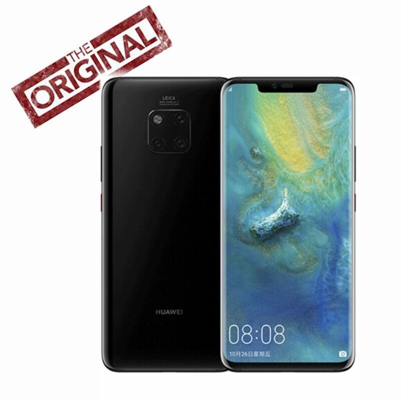 Original HuaWei Mate 20 Pro 4G LTE Mobile Phone Kirin 980 Android 9 0 6 39