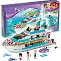 Dolphin Crucero Building Blocks Set Compatible Con Amigos 618 Unids 3 Ladrillos de Juguete Muñeca Figuras Brinquedos Juguetes para Niñas
