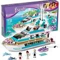 Dolphin Cruiser Building Blocks Набор Совместимость С Друзьями 618 Шт. 3 Игрушки Куклы Brinquedos Кирпичи Игрушки для Девочек
