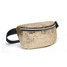 QIUYIN Shoulder Messenger Chest Bag heuptas wandelen Waist Bag Women Fanny Packs Belt Bags Luxury Fashion Women Bling