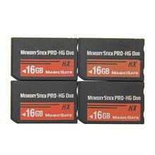 Per Sony PSP 1000/2000/3000 Memory Card 8GB 16GB 32GB Memory Stick HG Pro Duo gioco di carte HX a piena capacità reale preinstallato