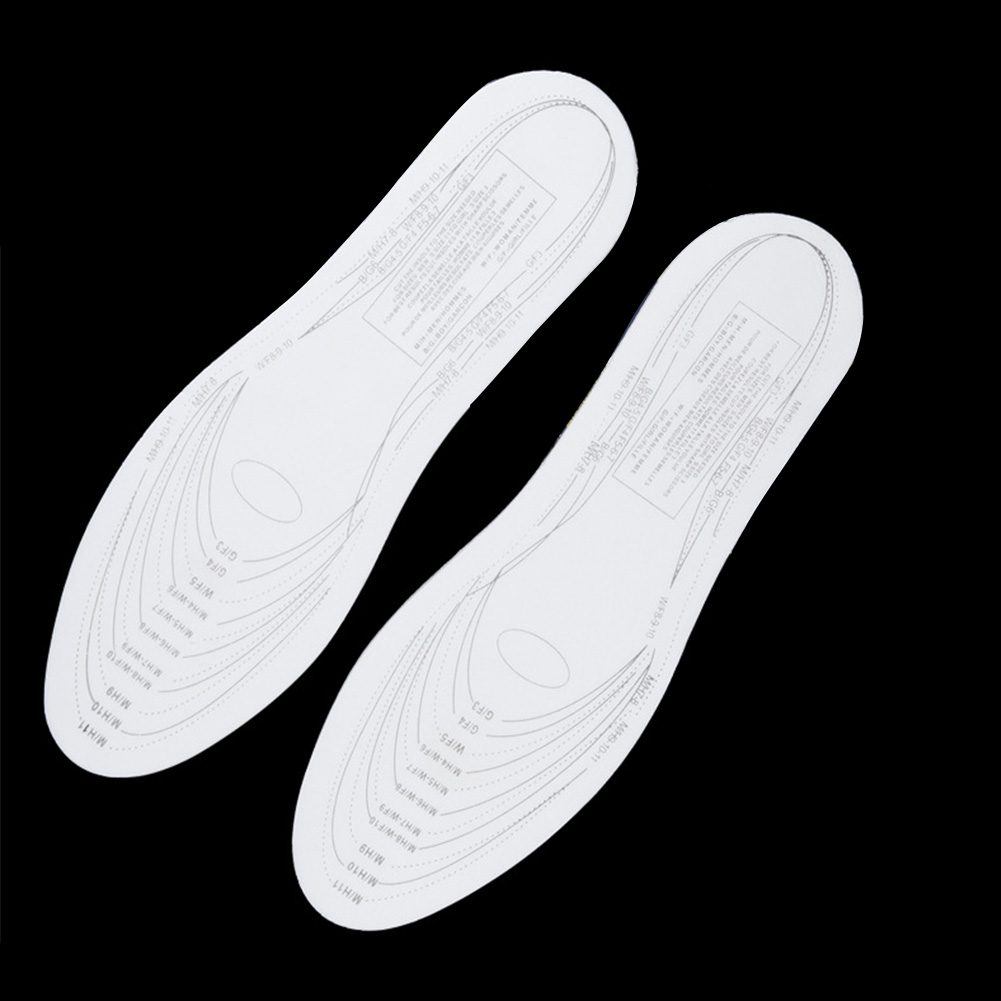 1 Pair Memory Insole Foam Breathable Sweat Absorbing Orthotic Arch Comfortable  Athletic Insole Shock Sport Shoes Pad