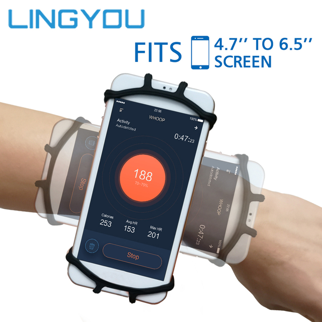 Sportowa opaska na nadgarstek pokrywa uchwytu telefonu uniwersalny sportowy uchwyt na telefon komórkowy Outdoor Sport Phone Wrist Case