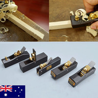 5 pcs Set DIY Mini Hand Planes Carpentry Carpenter Ebony Joinery Woodwork Tools Hand Mini Ebony Peeling Planer