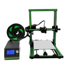 Hot Sale Anet E10 3D Printer Machine Aluminum Frame Reprap Prusa i3 DIY 3D Metal Printer Kit with Printing Size 220*270*300mm reprap prusa i3 3d printer metal carriage 1 75 mm all metal direct drive extruder hotend kit set aluminum alloy