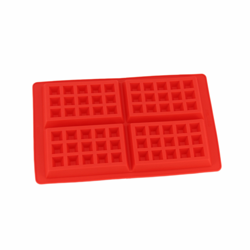 Diniwell Home Kitchen Bakeware Bar Baking Pan Tools 60 Hole Waffle Mold Cupcake Dish Silicone Cake Decorating Mini In Moulds Pastry