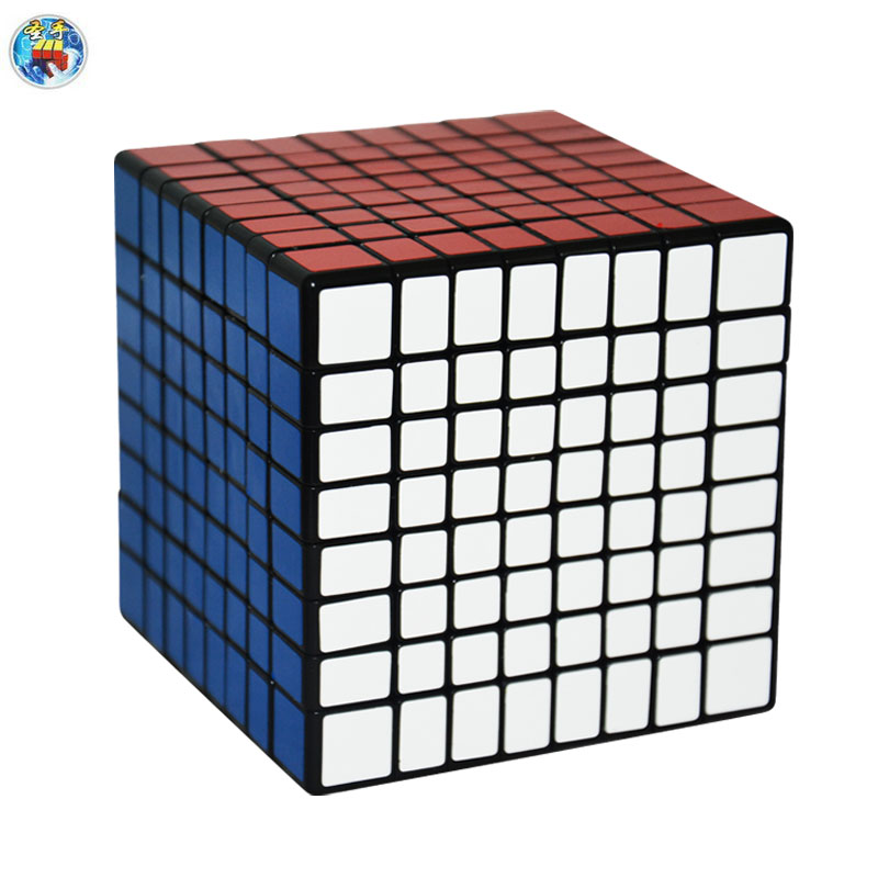 2016 New Shengshou 8.3cm 8x8x8 Cube(PVC Stickers) Magic Cube Puzzle Speed Twist Learning & Education Toys