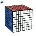 2016 Nueva Shengshou 8.3 cm 8x8x8 Cubo (Pegatinas PVC) Cubo Mágico Puzzle Giro Velocidad aprendizaje y Educación Juguetes