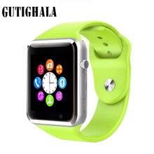 A1 Nano Cartão SIM e TF Cartão de apoio Relógio Inteligente Com Whatsapp Facebook e Twitter APLICATIVO smartwatch à venda por iPhone HTC Xiaomi