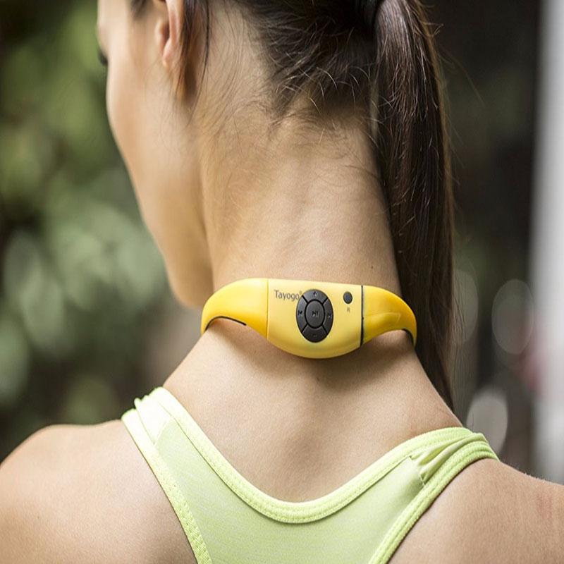 Tayogo Bluetooth étanche MP3 lecteur de musique casque sport sous-marin mp3 bluetooth avec FM bluetooth Pedo mètre pour la natation