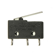 10pcs 250V 5A 3 Pin Tact Switch Sensitive Microswitch Micro Switches Handle KW11-3Z Promotion(China (Mainland))