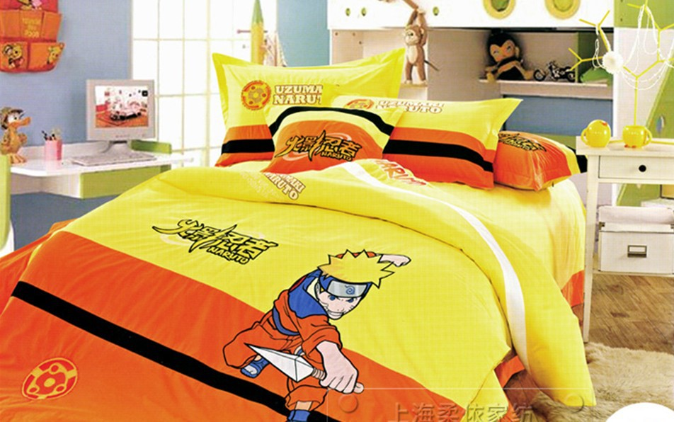 naruto bedding kids duvet covers twin bed set for children twin bedding children 39 s beds bedding. Black Bedroom Furniture Sets. Home Design Ideas