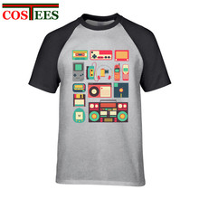 Retro Technology men's t-shirt