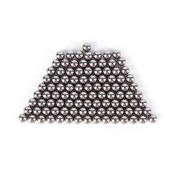 100 шт./лот 4 мм высокоуглеродистой Сталь рогатки мяч катапульта лук Сталь шары Охота рогатки