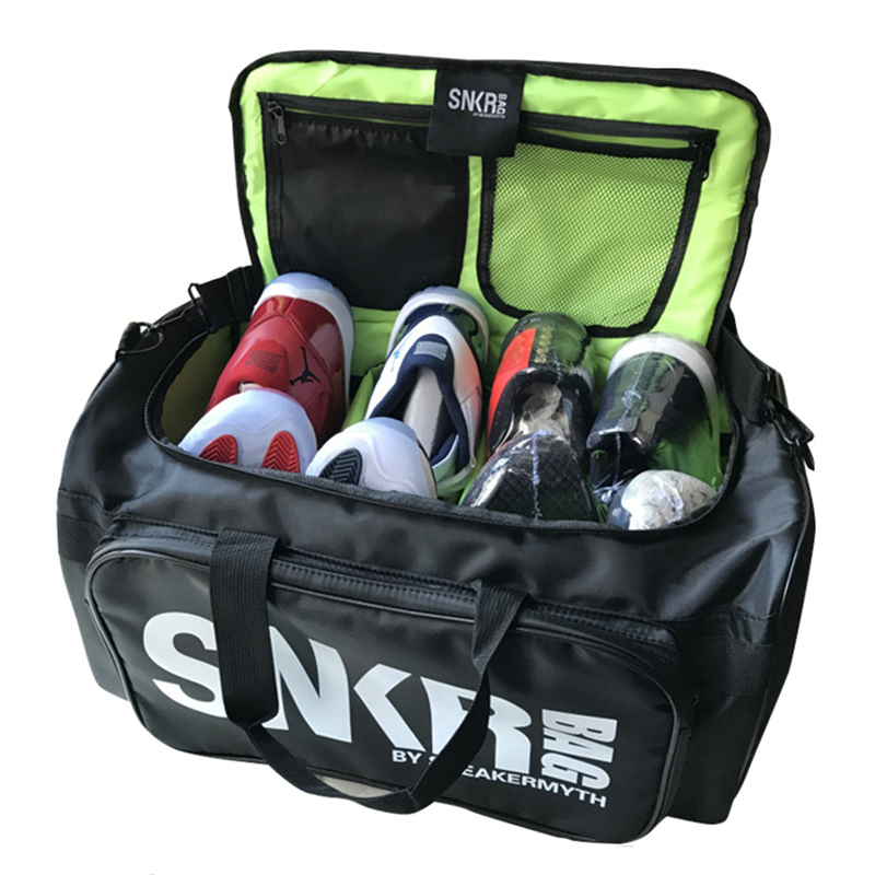 Men And Women Sneaker Gym Bag Waterproof Packing Cube Organizer Double Zipper Waterproof Polyester Bag Wholesale Basketball Bag