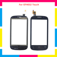 5pcs Lot High Quality Touch Screen Digitizer Sensor Outer Glass Lens Panel For Alcatel One Touch