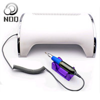 NOQ a Vacuum Cleaner Nail Dust Collector For Nails Aspiratori Unghie UF LED Dust Collector 54W Nail Lamp UV Therapy lamp Drill