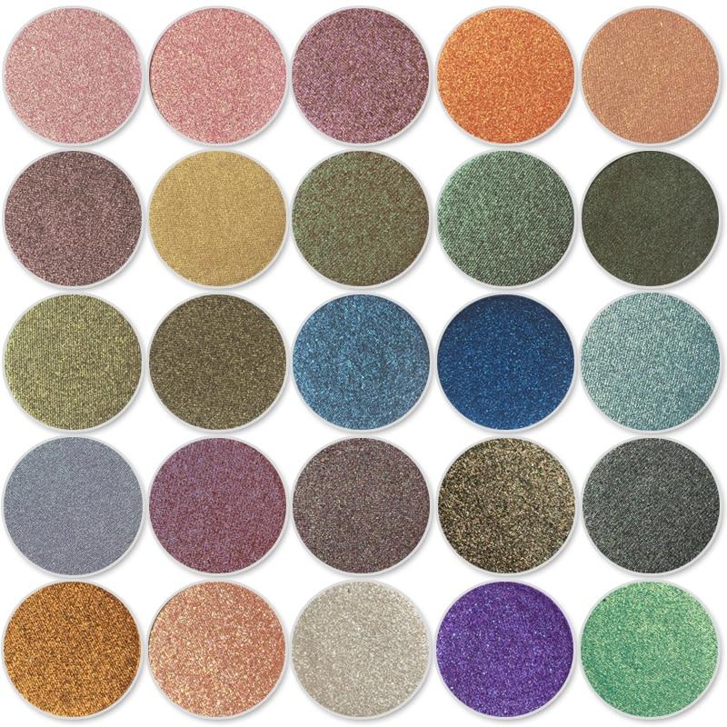 Colore Parete Glitter : Single eyeshadow foiled eye shadow palette colors