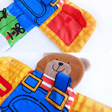 Playpen Baby Toys Book Soft Rattles Toy Early Learning Educational For Kids Infant Animal Bear Baby Cloth Book -30