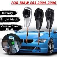Automatic Accessories LED Manual Gear Shift Knob Stick Lever LHD Auto Knob For BMW E63 Convertible pre LCI 2004 2006