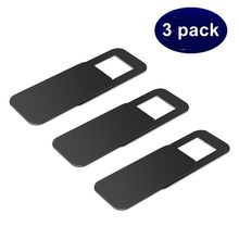 COOLTODAY 3PACK WebCam Cover Shutter Plastic Camera Cover For Web Cam IPhone PC