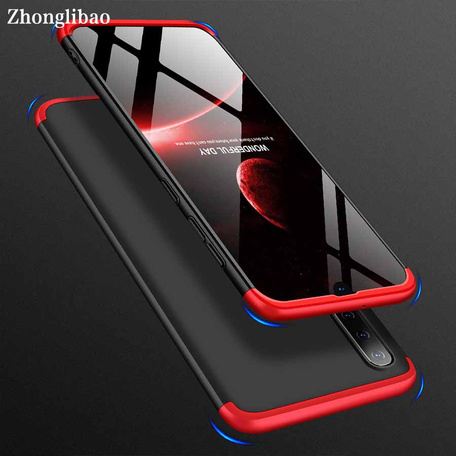 360 Full Protection Phone Case for Samsung A50 A30 Capa Matte Hard PC Shockproof Back Cover for Samsung Galaxy A50 A30 Fundas image