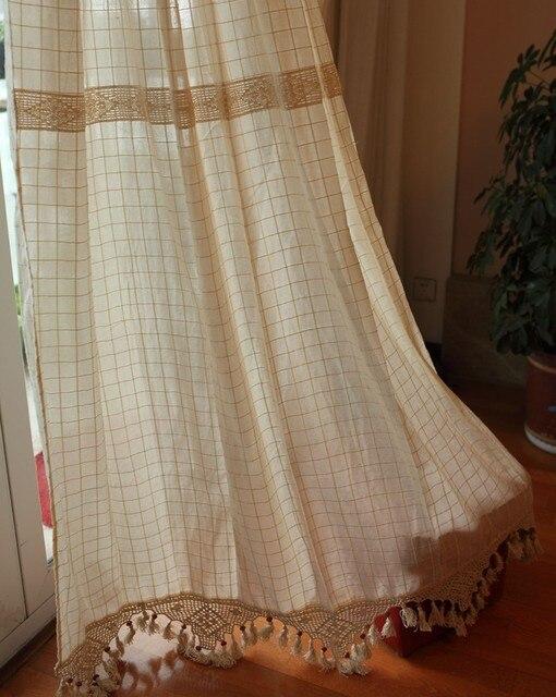 Aliexpress.com: Comprar Envío Gratis Plaid algodón y lino crochet ...