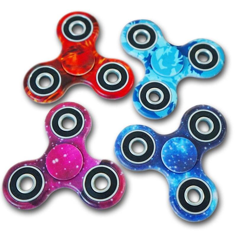 2017 Sale Fidget Spinner Hand Spinner Stress ReliverTri-Spinner Fidget Hand Spinner Camouflage Multi-Color EDC Focus Toys B0507