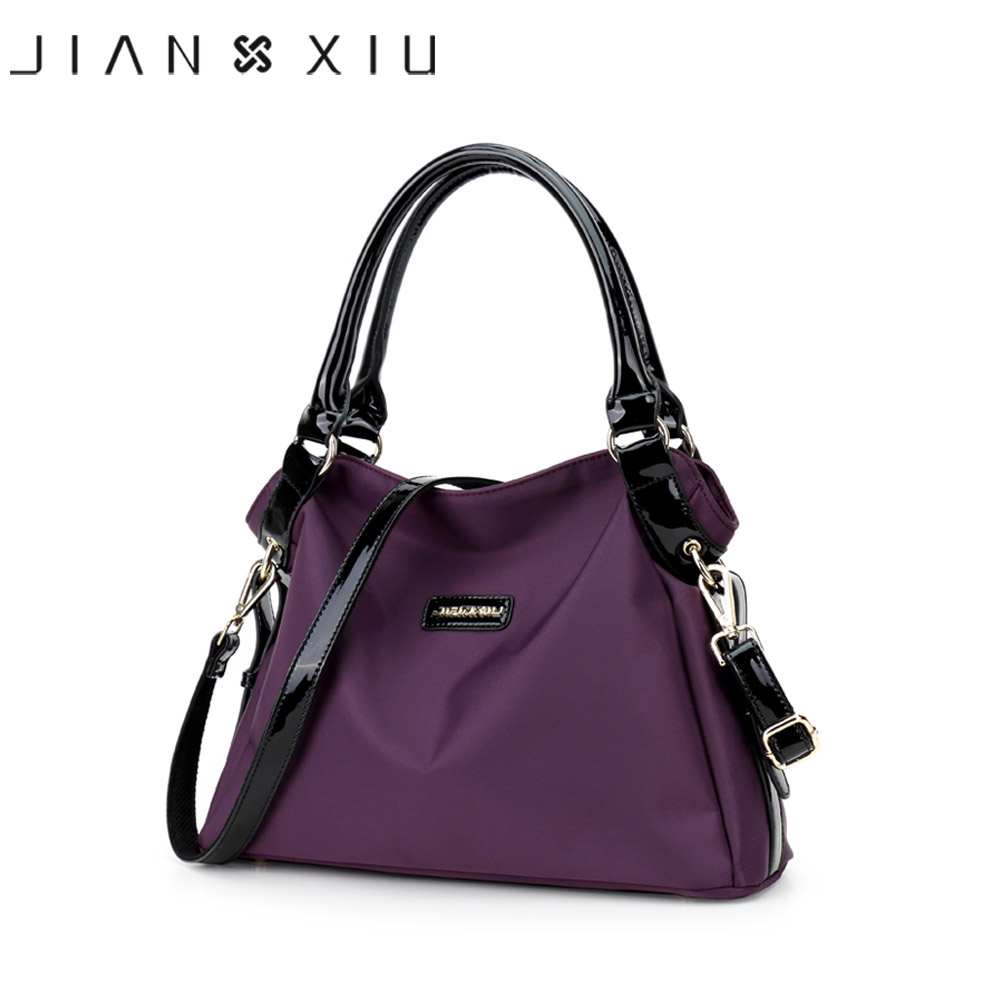 JIANXIU Brand Handbags Women Messenger Bags Fashion Large Handbag Nylon Waterproof Shoulder Crossbody Bag 2017 New 3 Colors Tote 2017 new brand waterproof nylon crossbody bags for women quality style fashion design shoulder bag multi purpose bag