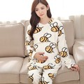 Hot sale winter good quality thickening pregnant pajamas flannel maternity clothes set maternity pajamas sleepwear