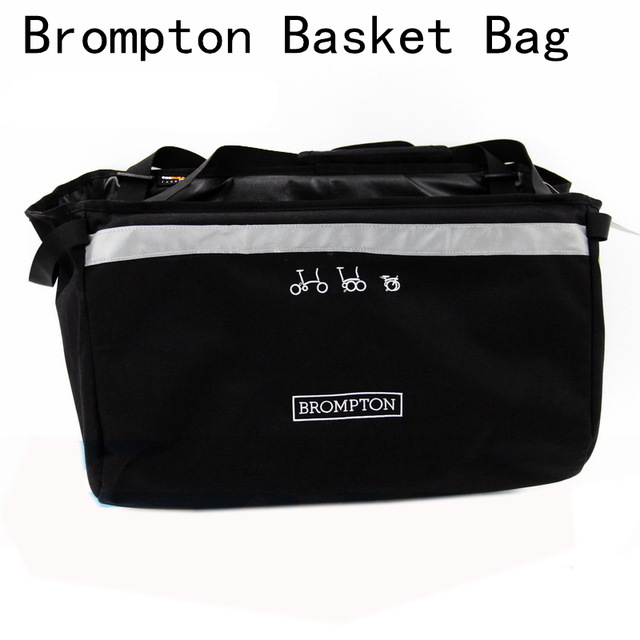 ACEOFFIX Bike Basket Bag for Brompton Vegetable Basket DuPont Waterproof Fabric for Brompton Bag