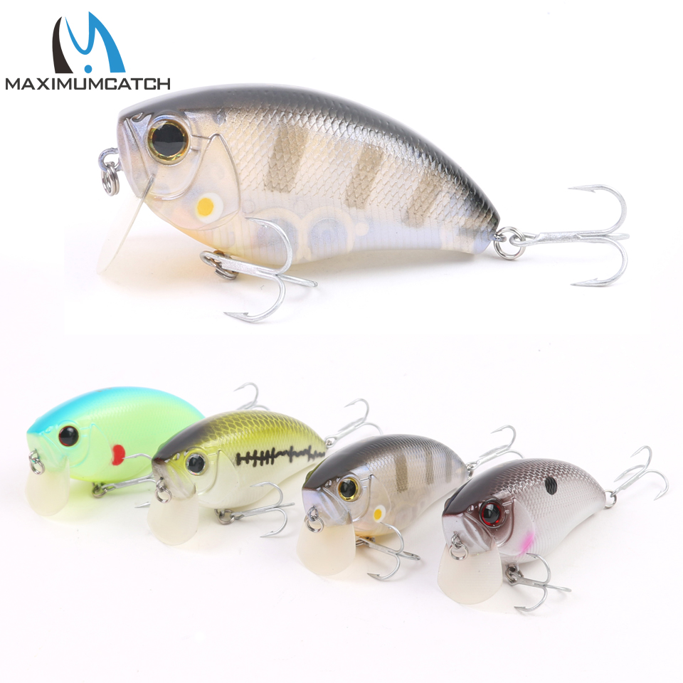 Maximumcatch 1Pcs New Crank Fishing Lures Artificial Bait With VMC Hooks Life-like Hard Fishing Lures Crankbait new hard plastic fishing lures crank