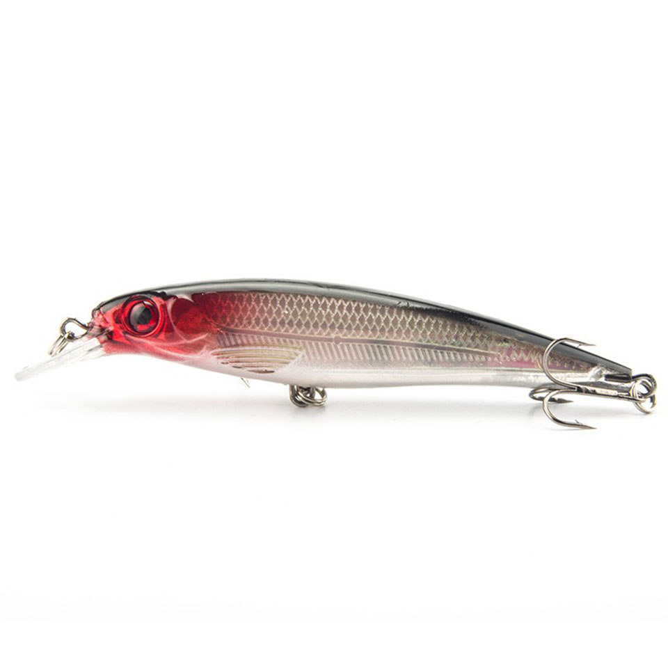 1PCS Laser Minnow Fishing Lure 11CM 13G Pesca Hooks Fish Wobbler Tackle Crankbait Artificial Japan Hard Bait Swimbait tsurinoya fishing lure minnow hard bait swimbait mini fish lures crankbait fishing tackle with 2 hook 42mm 3d eyes 10 colors set