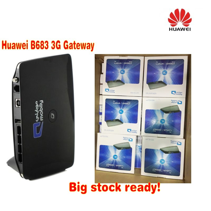 Huawei B683 3G WiFi Router Similar to B593 And E5172 b683 router brand huawei