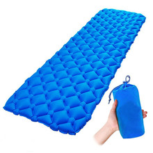 цена на Outdoor Camping Mat Single/Double Perple Waterproof Moisture-proof Light Tent Bed Picnic Hiking Fishing Mattress Inflatable Bed