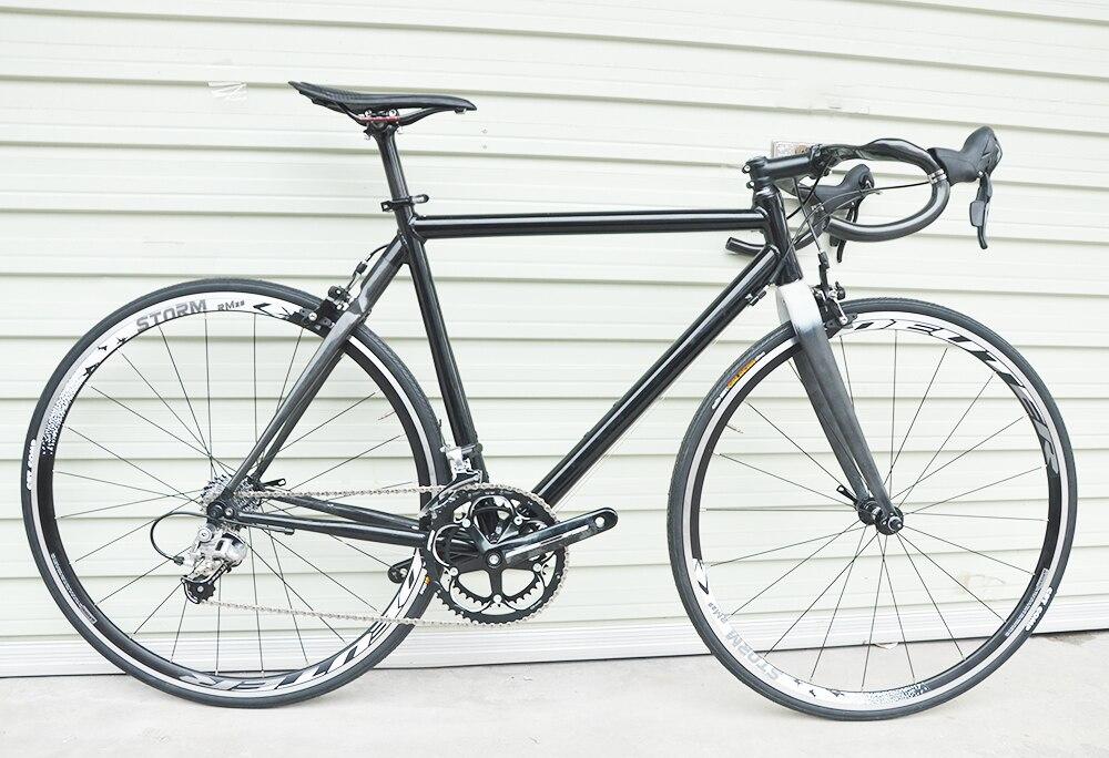 Vélo complet guidon carbone demi carbone demi aluminium 700c vélo de route
