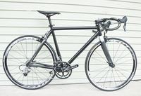 complete bike carbon handlebar half carbon half aluminum 700c road bike