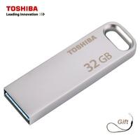 TOSHIBA USB флэш-накопитель USB3.0 U363 32 GB Флешка 64 Гб chiavetta usb 128 gb металла Водонепроницаемый Флешка для хранения устройства флешки