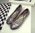 Удобные плоские туфли Балетки обувь большого размера обуви квартир Женщин-268-26 ЕВРО РАЗМЕР 35-42