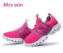 Spring new women running shoes men sneakers outdoor dash walking shoes black mesh run sport shoes EU36-44 zapatillas mujer