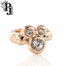 New Endless Jewelry Rose Gold Charm Multi Rhinestone Crystal Charms for Endless Bracelet Jewelry SJSB1332