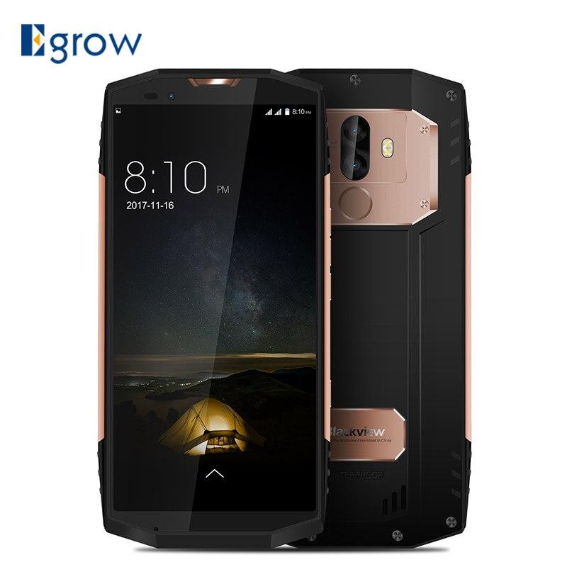 BLACKVIEW BV9000 IP68 Étanche SmartPhone 5.7 18:9 Plein Écran MT6757CD P25 Octa Core 4 gb + 64 gb Android 7.1 13MP NFC Tactile ID