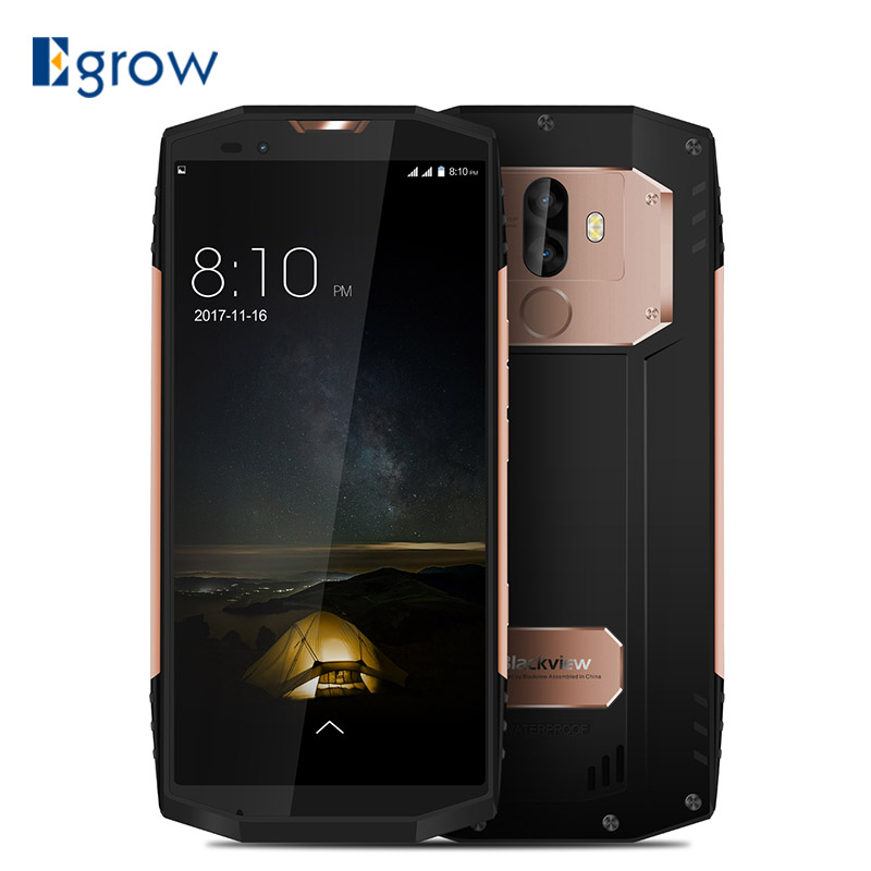 BLACKVIEW BV9000 IP68 Водонепроницаемый смартфон 5,7 18:9 полный Экран MT6757CD P25 Octa Core 4 ГБ + 64 ГБ Android 7,1 13MP NFC Touch ID