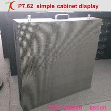 P7.62 HD SMD полный цвет простое оборудование, витрины, 8 сканирования, 17222 dots/m2