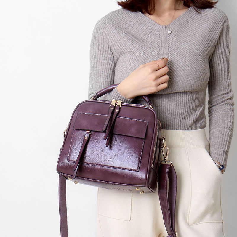 Fashion Mewah Tas Tangan Wanita Tas Di Atas Bahu Tas Kulit untuk Wanita 2019 Tas Selempang Bolso Mujer Desainer Wanita Tas Sac utama