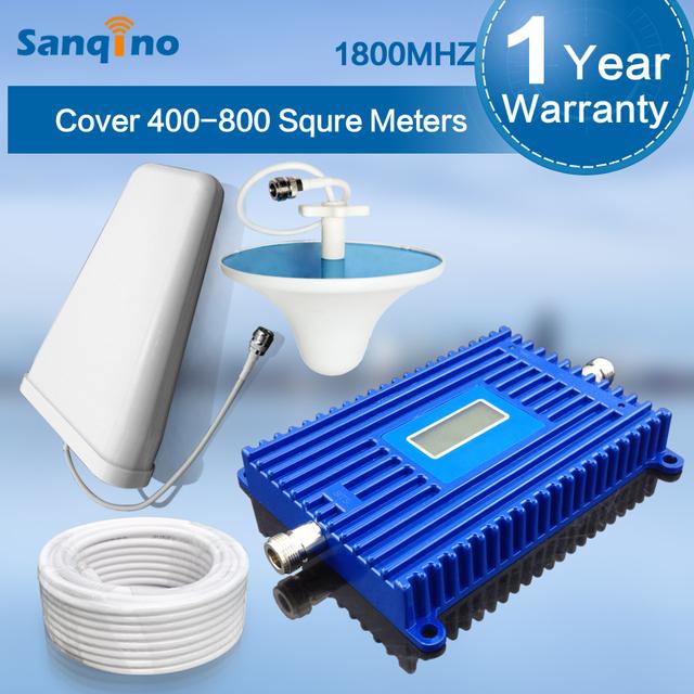 Pantalla LCD Repetidor GSM 1800 MHz Celular Repetidor De Sinal 1800 mhz DCS Teléfono Celular Amplificador de Señal 4G LTE 1800 mhz Repetidor